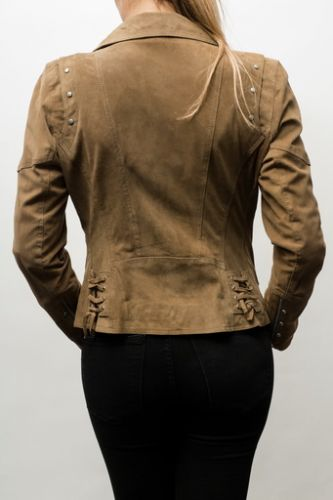 Blouson daim nouvelle collection
